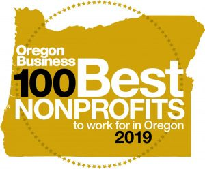 100 best non-profits 2019 logo